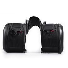 2pcs Universal Motorcycle Saddle bags Motocross Tail Bags Moto Bag Knight Helmet Bag Motorbike for Honda for Suzuki for Kawasaki недорого