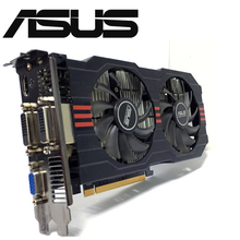 Asus GTX 750TI OC 2GB GTX750TI GTX 750TI 2G D5 DDR5 128 Bit PC Desktop di Schede Grafiche PCI Express 3.0 Video del computer carta