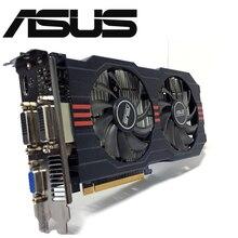 Asus GTX 750TI OC 2GB GTX750TI GTX 750TI 2G D5 DDR5 128 Bit PC tarjetas gráficas de escritorio PCI Express 3,0 tarjeta de vídeo de la computadora