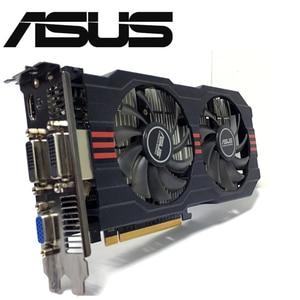 Image 1 - Asus GTX 750TI OC 2GB GTX750TI GTX 750TI 2G D5 DDR5 128 Bit komputer stacjonarny karty graficzne pci express 3.0 komputer karta graficzna