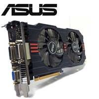Asus GTX-750TI-OC-2GB GTX750TI GTX 750TI 2G D5 DDR5 128 bits PC tarjetas gráficas de escritorio PCI Express 3,0 Video de ordenador tarjeta de