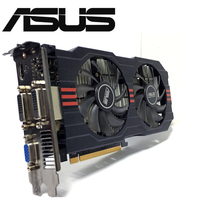Asus GTX 750TI OC 2GB GTX750TI GTX 750TI 2G D5 DDR5 128 Bit PC Desktop Graphics Cards PCI Express 3.0 computer Video card