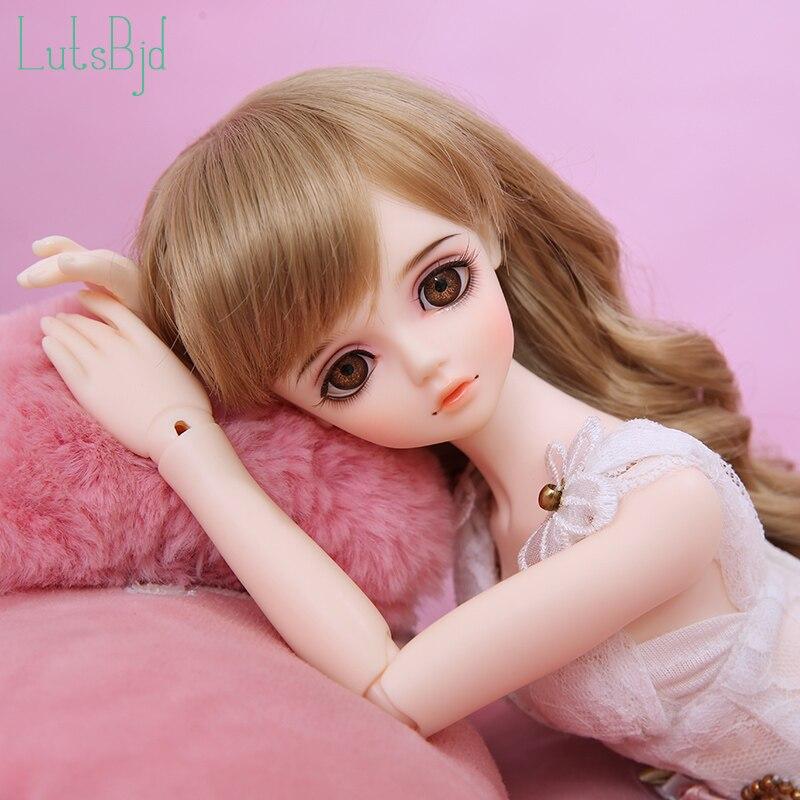 BJD//SD Doll 1//4 Girl Element Body Doll DIY Practice Make-Up Toy Eyes