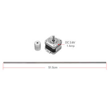 Creality 3D Printer Accessories Dual Z Axis Rod Step Motor Upgrade Replacement Parts for CR-10 CR-10S