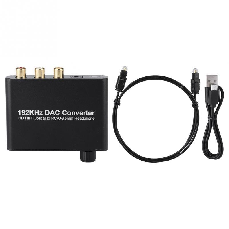 Unterhaltungselektronik Gehorsam Hd Digital-decoder Optical Coaxial Toslink Analog Konverter Digital Audio Decoder Im Sommer KüHl Und Im Winter Warm