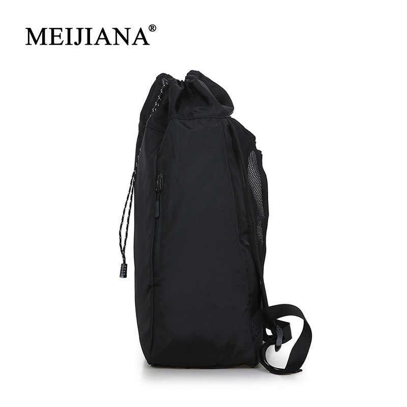Portátil bolso de gimnasio mochila fútbol Luz de bádminton deportes de los hombres de moda puede todavía