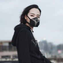 FA-601 электрическая маска респиратор Очищающая воздух Пылезащитная маска PM2.5 анти-дымка лицо рот маска с клапаном USB перезаряжаемая