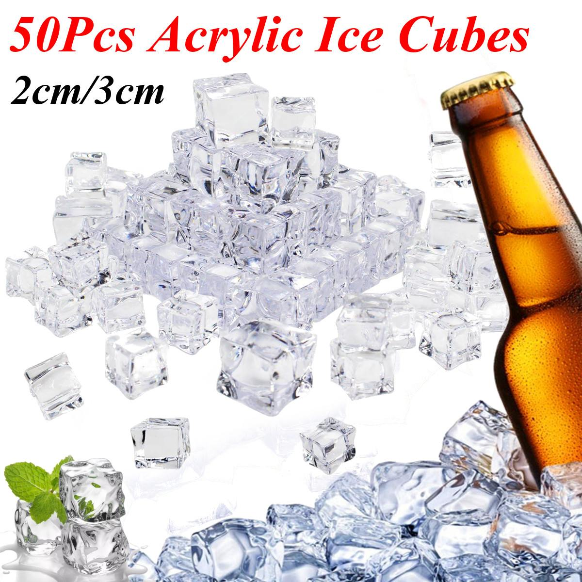 50Pcs Cube Square Shape Glass Luster Ice Cubes Fake Artificial Acrylic Ice Cubes Crystal Clear Photography Props Kitchen Decor50Pcs Cube Square Shape Glass Luster Ice Cubes Fake Artificial Acrylic Ice Cubes Crystal Clear Photography Props Kitchen Decor