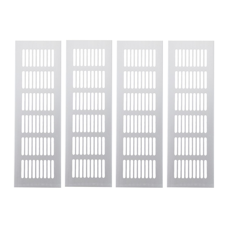 4Pcs Wide Aluminum alloy Air Vent Ventilation Grille For ...