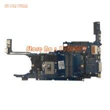 JU PIN юаней материнская плата для ноутбука hp 820 G3 831763-001 831763-501 831763-601 с Процессор i5-6300U полностью протестированы
