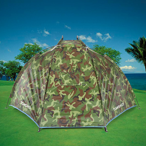 Image 5 - TOMSHOO tienda para playa y exteriores refugio deportivo para 2 personas, tienda de campaña con protección UV para pesca, Picnic, Playa y parque