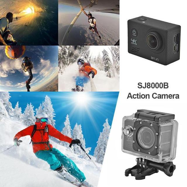 SJ8000B Somy 179 CMOS Action Camera 4K WIFI 1080P HD 16MP 4X Zoom Helmet Cam 30m Waterproof 170 Degree Wide Angle Lens Sports DV 2