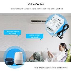 Image 5 - EWeLink TH 16 Smart Wifi Schakelaar Monitoring Temperatuur Draadloze Domotica Kit met Waterdichte DS18B20 Temperatuur Sensor