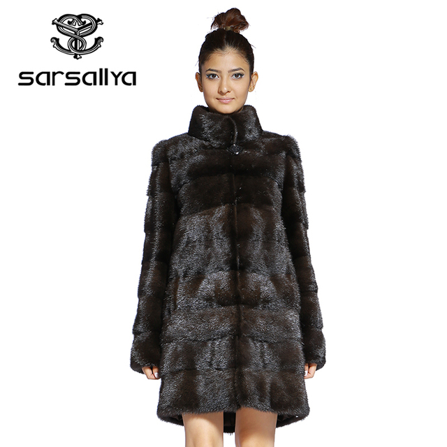 Real Fur Coat Mink Women Winter Natural Fur Mink Coats And Jackets Female Long Warm Vintage Women Clothes 2019 Plus Size 6XL 7XL 53