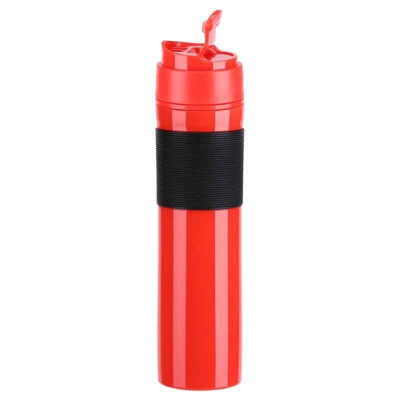 Новый набор для кофе 350 мл, кружка для кофе с французским прессом, портативные бутылки для воды, походная кофейная кружка, кружка для кофе, вакуумная фляжка