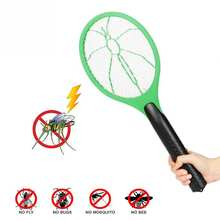 Батарея управлением лету комаров мух Большой Сетки анти отпугиватель комаров насекомых бытовой 3 слоя сетки Электрическая мухобойка