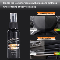 Automobile Interior Leather Car Seat Polish Wax Panel Dashboard Cleaner 50ML|Paint Cleaner| |  -