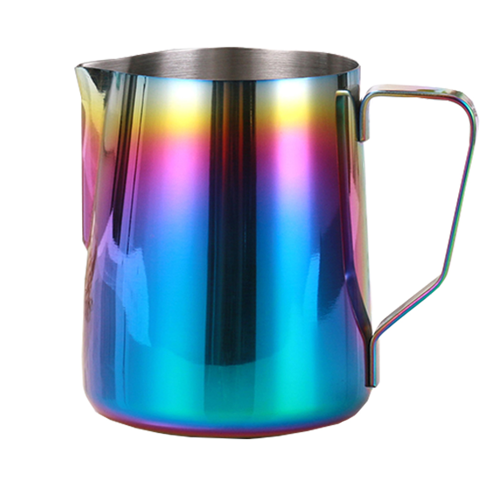 350ml  600ml Coffee Maker Supplies Milk Jug Cappuccino Cooking Tool Cup Pitcher Stainless Steel Frothing Kitchen Accessories