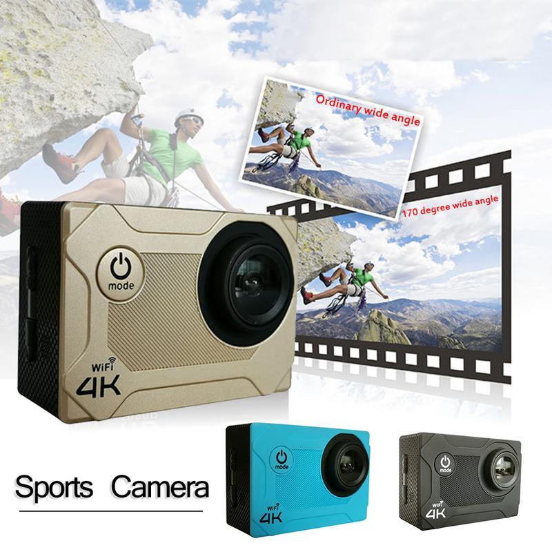 Caméra professionnelle HD pour caméra sport HAMTOD S9 4 K Support de qualité caméra sport WIFI HD