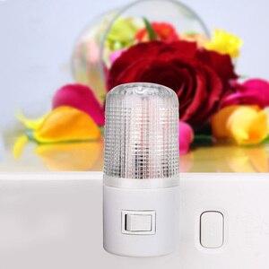 Image 4 - مصباح LED ليلي ضوء الطوارئ الجدار مصباح الإضاءة المنزلية الاتحاد الأوروبي/الولايات المتحدة التوصيل أباجورة الحائط 3 واط مصباح الموفرة للطاقة