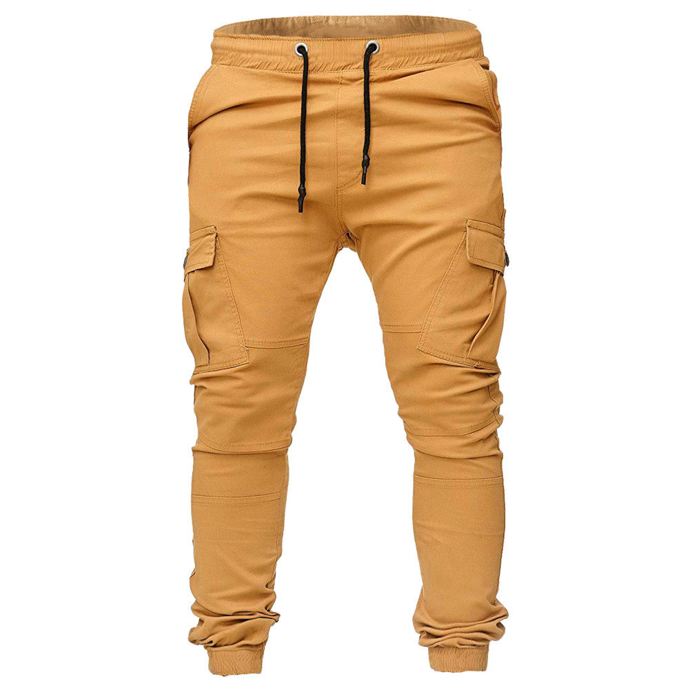 exceptional range of styles and colors cheaper limited quantity US $13.49 10% OFF|Pants 2019 New Brand Men Cargo Combat Trousers Tracksuit  Bottoms Skinny Pockets Casual Joggers Sweat Track Pants-in Cargo Pants from  ...