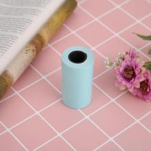 Новинка 3 рулона печатная бумага ang наклейка бумага белая и Черная Клейкая фотобумага для Мини карманного фотопринтера ang 57 мм