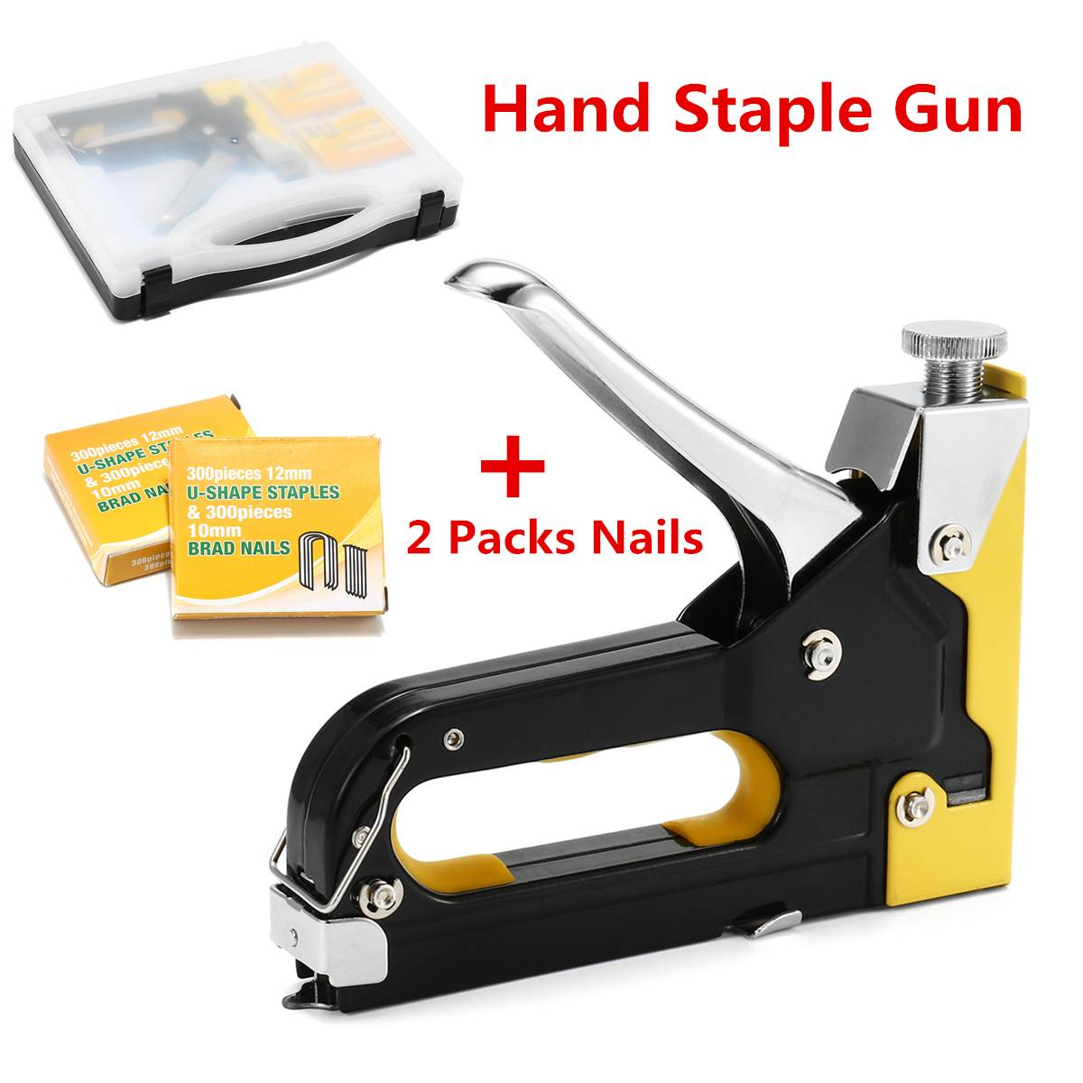 Zeer Heavy Staple Tacker 3 Ways Hand Staple Guns Tacker Upholstery PV51