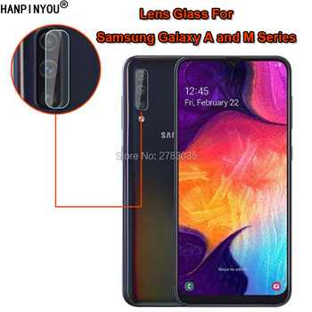 For Samsung Galaxy A50 A80 A10 A20 A30 A60 A70 A40 M20 M30 A40s Clear Back Camera Protector Rear Lens Cover Tempered Glass Film image