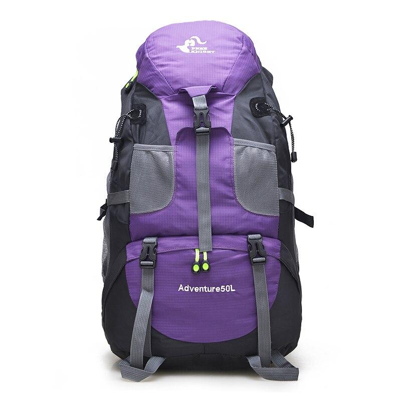 50L Outdoor Wandern Tasche, Wasserdichte Touristischen Reise Berg Rucksack, Trekking Camping Klettern Sport Taschen