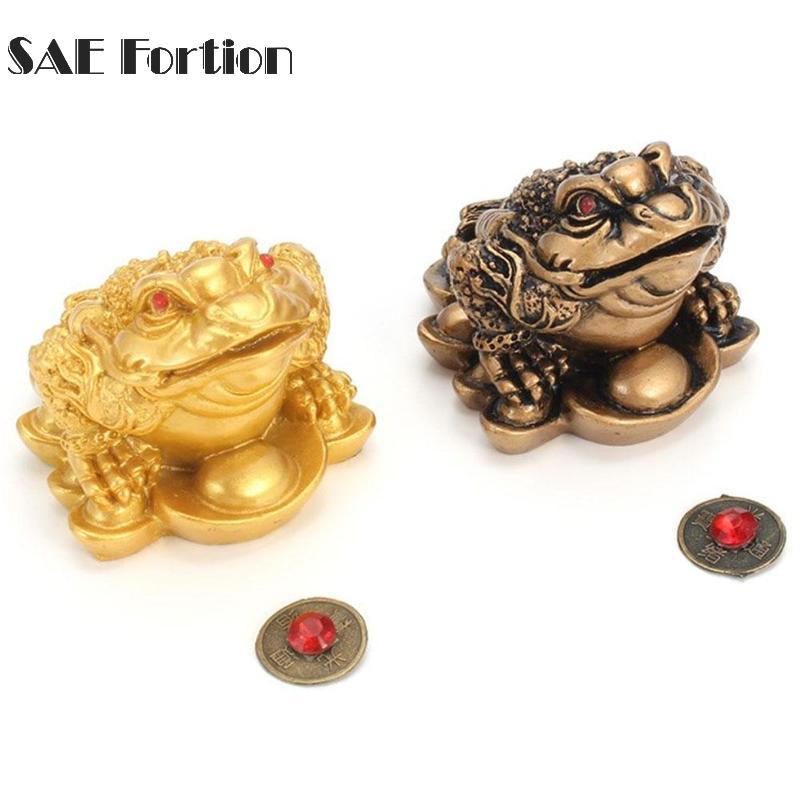 Chinese Frog Toad Feng Shui Money LUCKY Fortune Wealth For Home Office Decoration Tabletop Ornaments Feng Shui Lucky Gifts