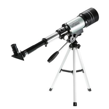 Profesjonalny odkryty HD monokularowy 150X refrakcyjny astronomiczny teleskop do obserwacji przestrzeni kosmicznej luneta podróżna z przenośny statyw tanie i dobre opinie Beileshi Monocular F30070M Astronomical Telescope
