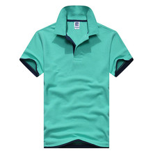 2019 summer Plus Size M-3XL Brand costume venting New mens polo shirt men short sleeve cotton jerseys  shirts