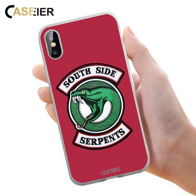 CASEIER Riverdale Hình Ốp Lưng Điện thoại Huawei Mate 20 10 Lite P20 P10 P9 Pro Dành Cho Huawei P Thông Minh ốp lưng Y9 Y7 Y6 Bao Funda