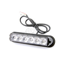 free 2x6W LED strobe light warning lamp synchronous for offroad truck trailer vehicles agriculture heavy duty equipment motor 4pcs led strobe light flash emergency warning safety amber white led light for car automotive truck trailer offroad 4x4 vehicles