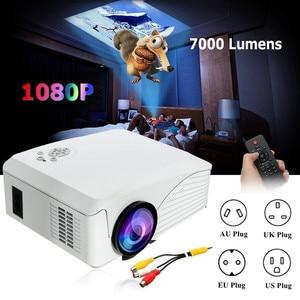 Portable 7000 Lumens 1080P LED