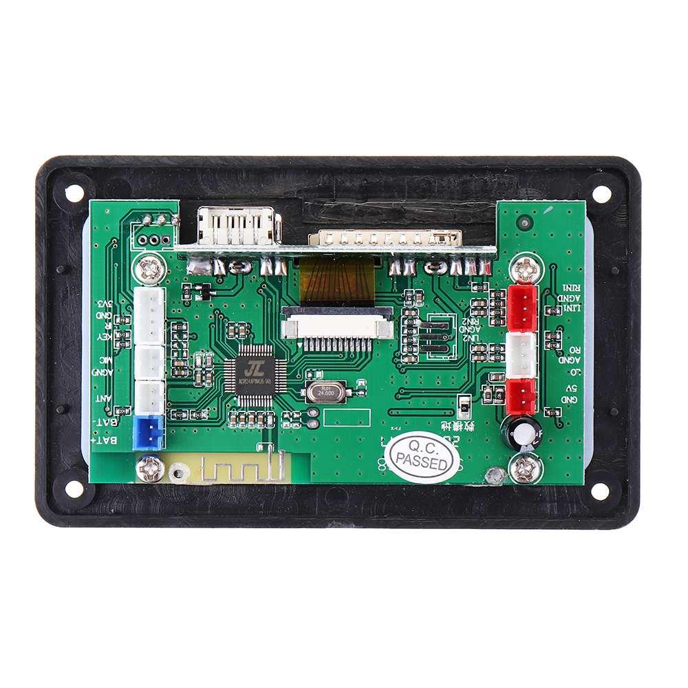 4 2DC bluetooth MP3 Decoder Board Decoding MP3 Player Audio Module Support  APE FLAC WMA WAV MP3 With Lyrics Display