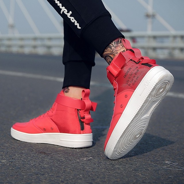 Fashion High Top Hip Hop Boots 8