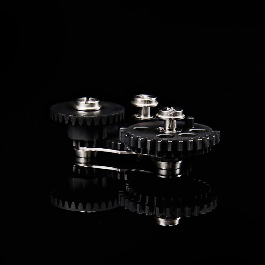 Rowsfire 1/5 Pcs Module de vitesse Non réglable dent en acier pour boîte de vitesses FB Gerbox et Jiqu-noir - 2