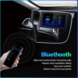 "Image 4 - Dasaita 8 ""1 Din Android 10.0 araba radyo çalar için Mitsubishi Outlander 2015 2016 2017 navigasyon GPS 12V 4GB RAM HDMI MAX10"