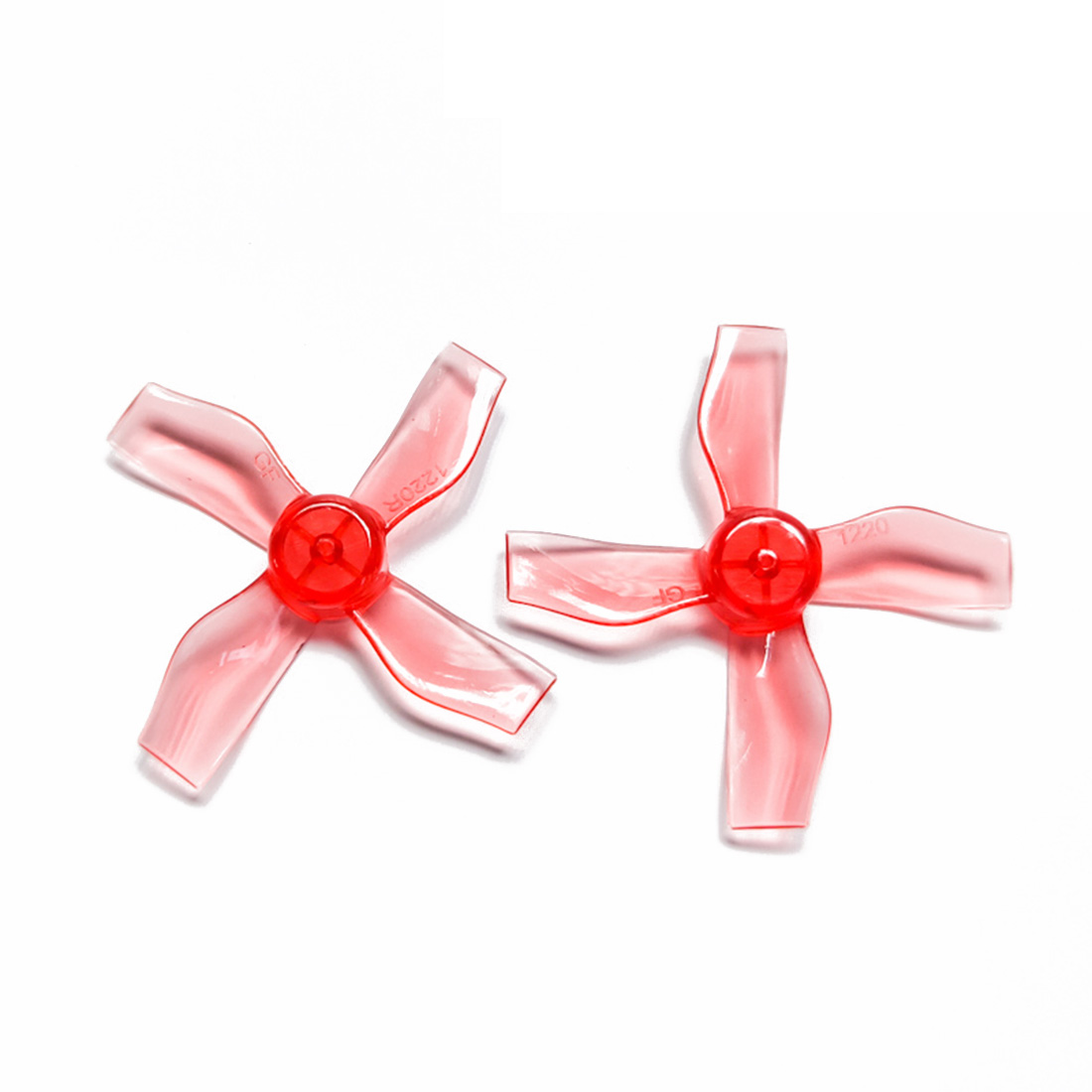 Gemfan 4 Pair <font><b>1220</b></font> 1.2x2x4 31mm 0.8mm Hole 4 Paddle Propeller for 0703-1103 RC Drone FPV Racing Brushless <font><b>Motor</b></font> Spare Parts Accs image