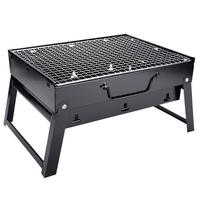 Mini BBQ Grills Outdoor Folding Household Portable Carbon Barbecue Grill Yard Camping Portable BBQ