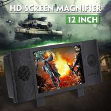 3D HD Enlarged Screen Mobile Phone Amplifier Magnifier Dual