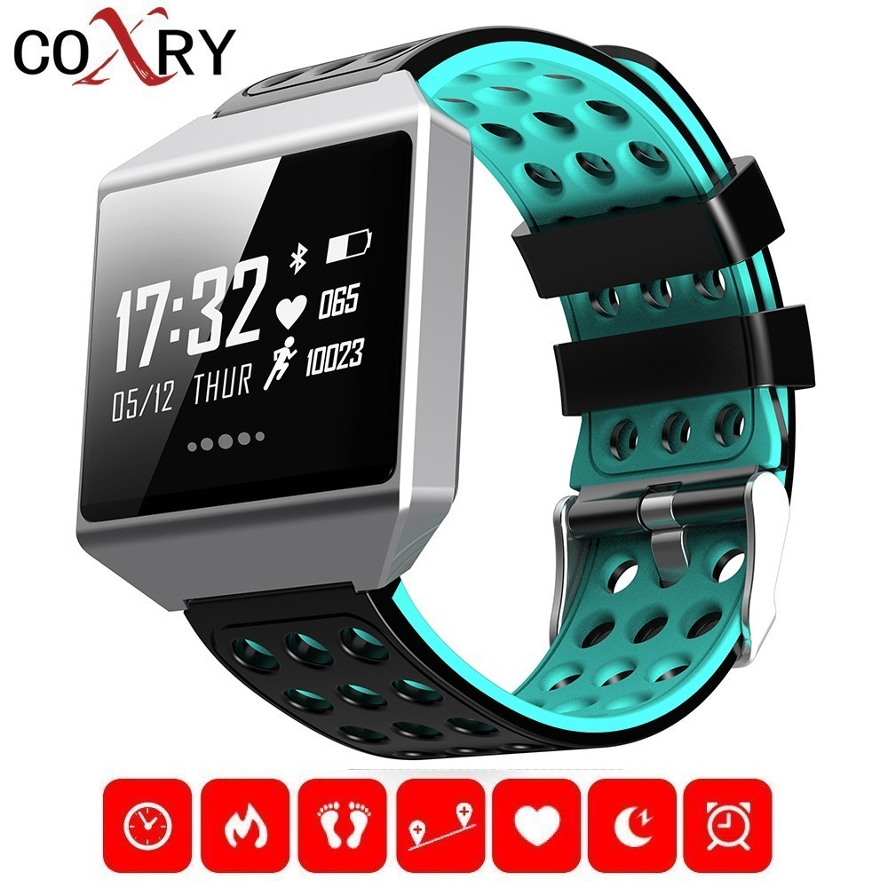 Men's Watches Bangwei 2019 New Smart Sport Watch Men Fitness Tracker Pedometer Heart Rate Blood Pressure Monitor Led Touch Screen Smart Watch Delicacies Loved By All