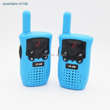1 Pair Mini GoodTalkie UT108 Toy Walkie Talkie Portable Children Two-Way Radio Kids Walkie-Talkies kaiyue 9110 4w 408 410mhz headset walkie talkies green 2 pcs 6 x ag10