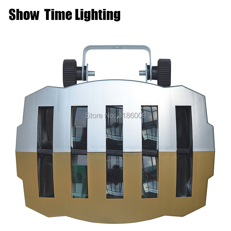 Good Quality LED Double Gold Butteryfly Light Led Beam Moving Professional For Home Entertainment KTV DJ Party Disco Sing Dance