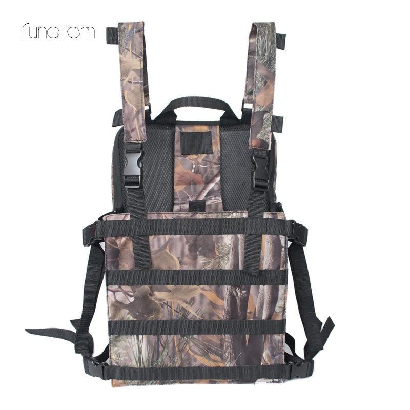 Mode poitrine plate-forme sac Hip Hop Streetwear fonctionnel tactique chasse poitrine sacs croix Camouflage sac Kanye hommes sac à dos