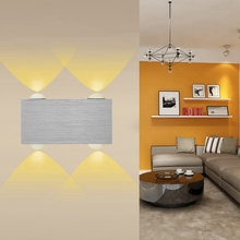 4W LED Wall Lamp Modern Style Aluminum Aisle Balcony Light 200LM  wall lamp vintage light