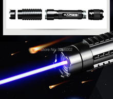 AAA Most Powerful Military Burning Blue Laser pointer 450nm 100w 100000m Lazer sight Flashlight burn match candle lit cigarette