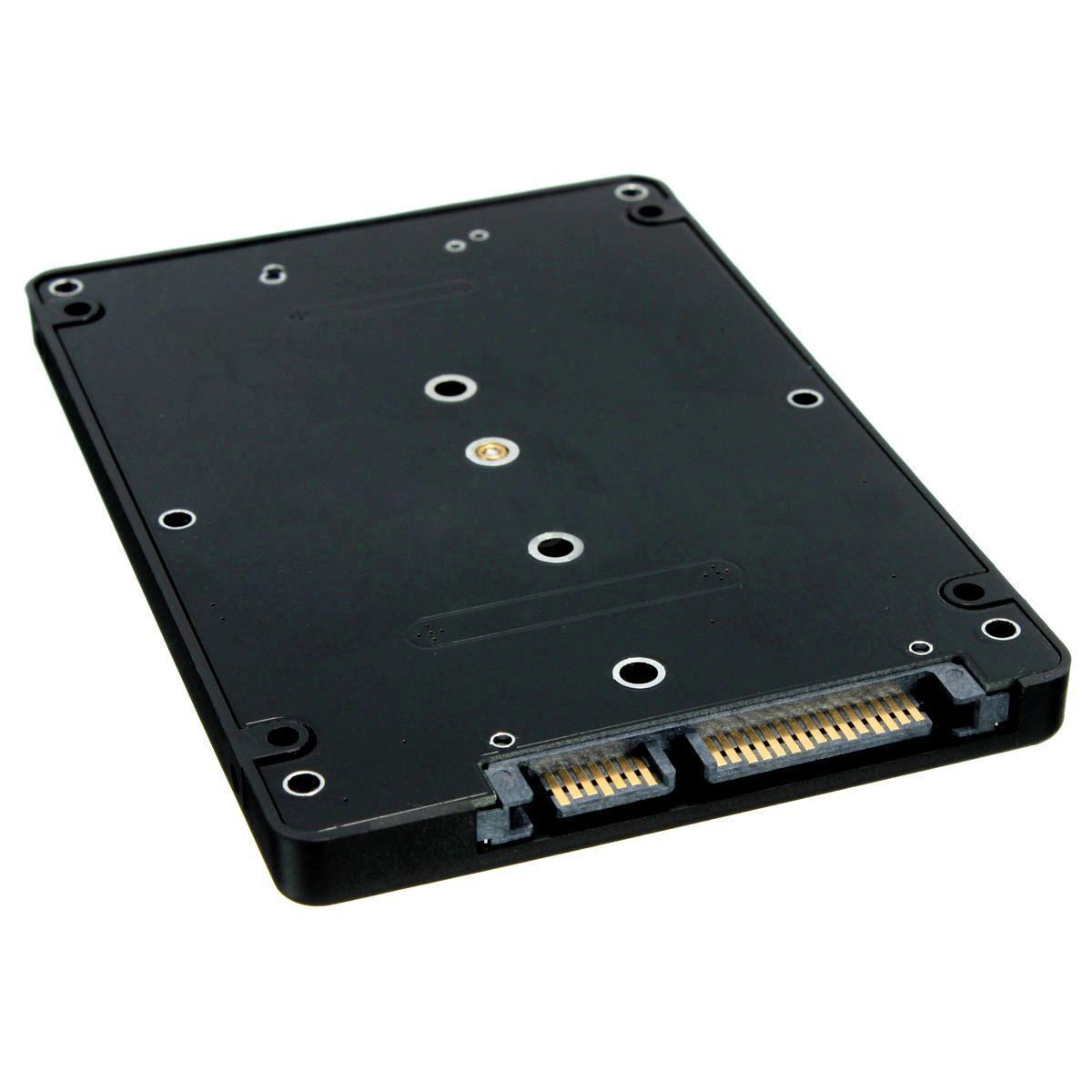 M.2 NGFF (SATA) SSD To 2.5 Inch SATA Adapter Card 8mm Thickness Enclosure IO M.2 SATA SSD Adapter To Desktop/Notebook Computer