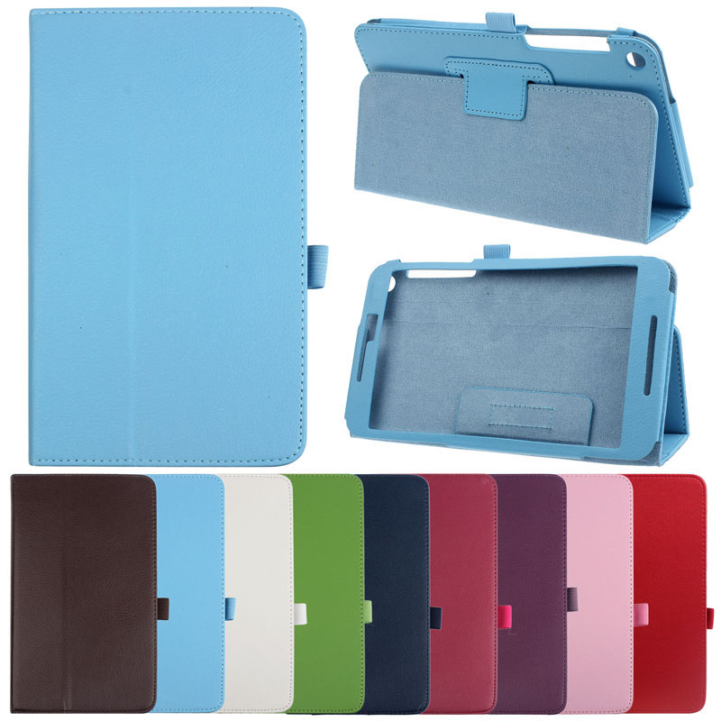 Tablets Case Protective Case New Mecall 1PC Luxury Leather Case Stand Cover For
